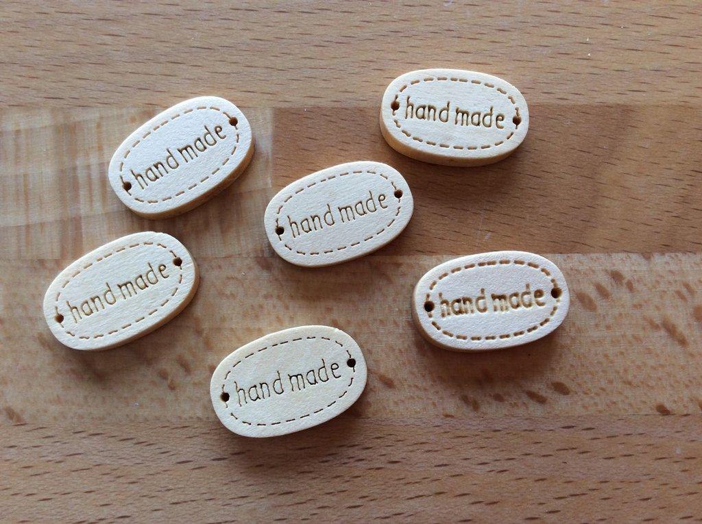 10 handmade legno