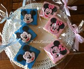 Biscotti Decorati TOPOLINO E MINNIE