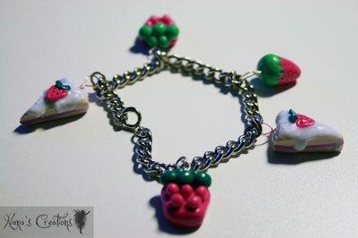 braccialetto fragoloso