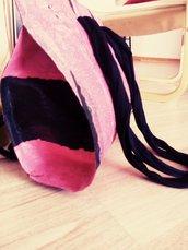 Borsa da passeggio rosanero
