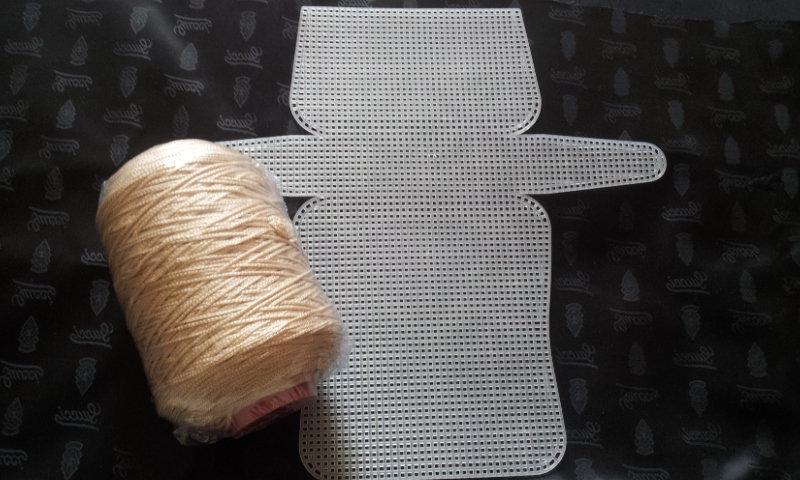 Kit Rete 50x53 + Cordino Thai BEIGE