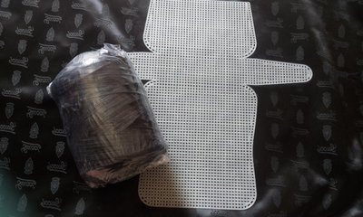Kit Rete 50x53 + Cordino Thai NERO