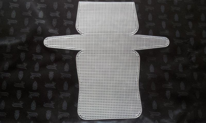 Rete preformata o sagomata 50x53 per borse