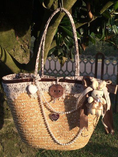 Borsa mare fashion shabby chic