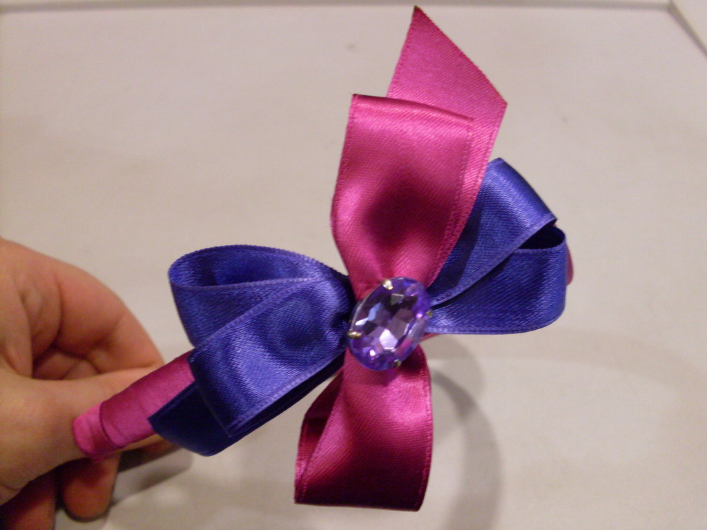 Cerchietto purple diamond