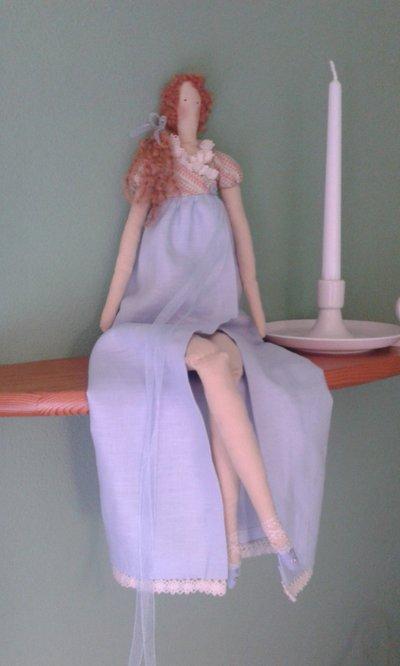 Bambole di stoffa fatte a mano
