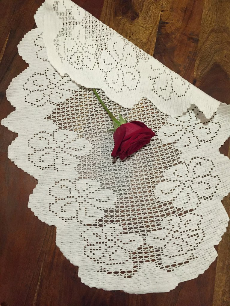 Tovaglia decorazione casa filet uncinetto tavolo cotone a - Tovaglia per tavolo ovale ...