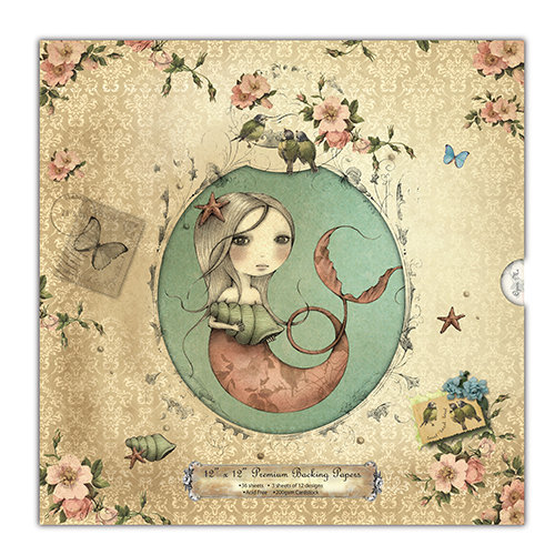 Premium Backing Papers 30x30 cm - Mirabelle