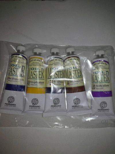 Colori ad olio per dipingere