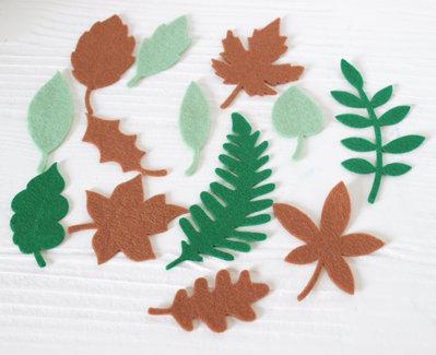 Mix 15 foglie