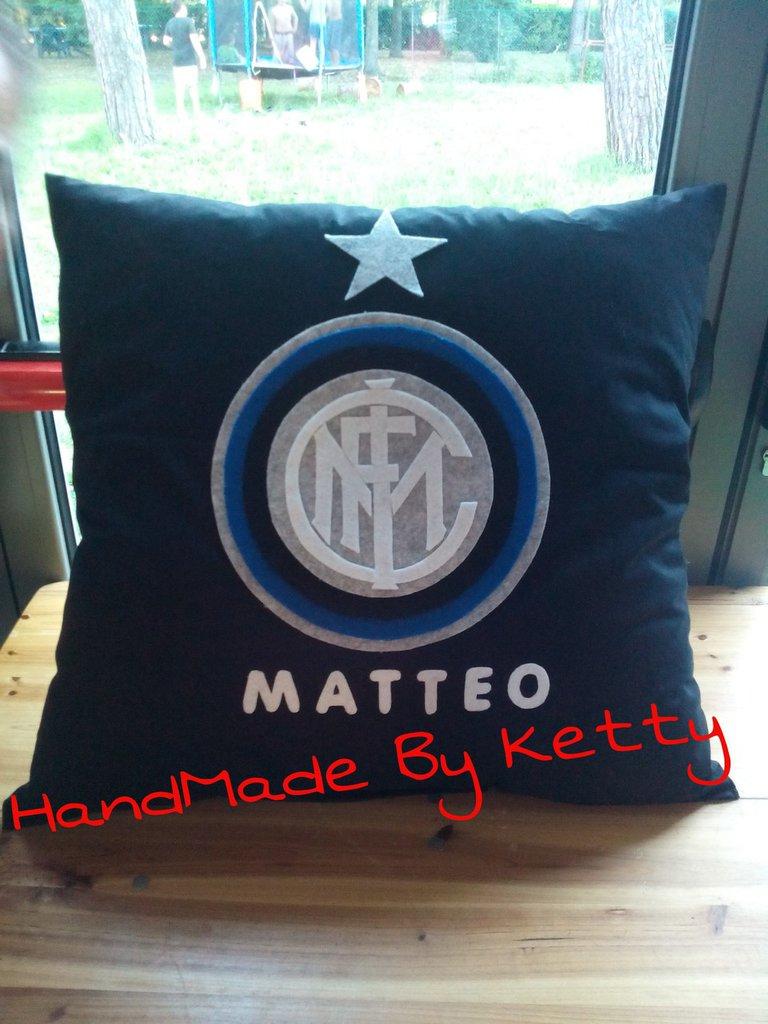 Cuscino Juventus personalizzabile