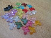 Orecchini con farfalline colorate