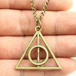 """Collana  """"i doni della morte"""" dalla saga del film Harry Potter ultime disponibili!!"""