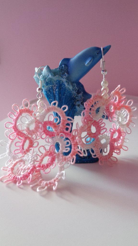 Meravigliosi orecchini rosa creati apposta per te