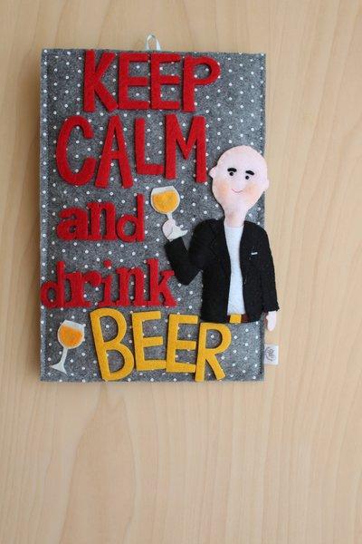 Quadretto personalizzato Beer