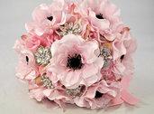 Bouquet gioiello anemoni