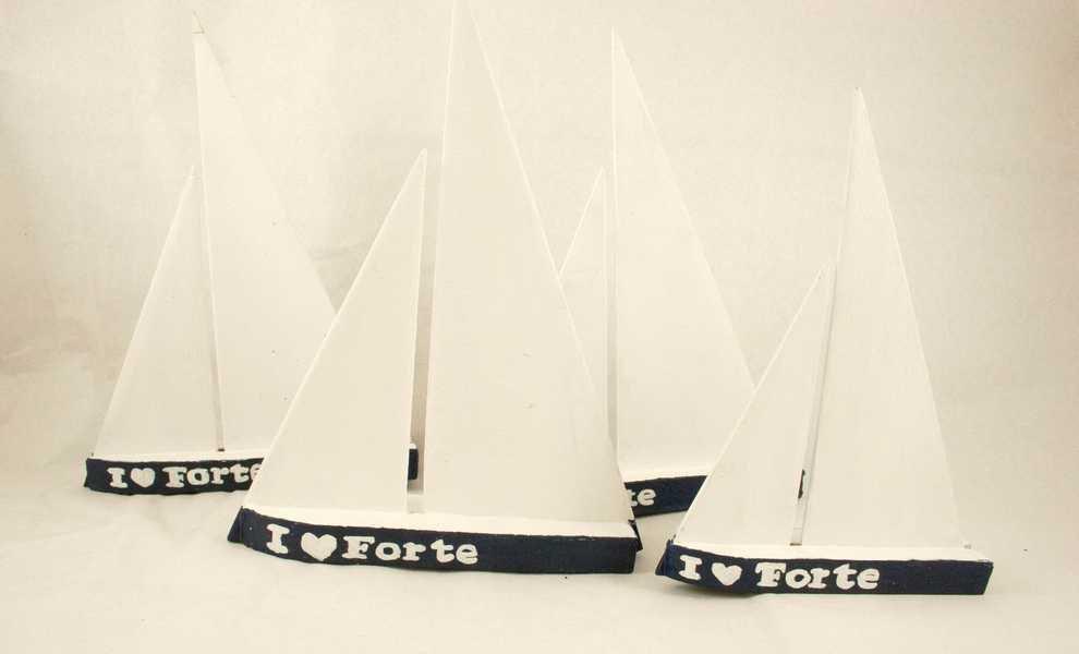 """Decorazione barca """"Forte dei marmi"""""""