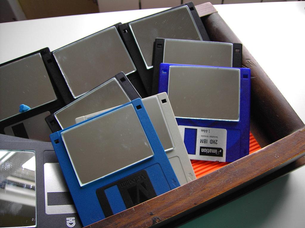 espejos diskettes