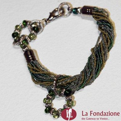Bracciale Lux Conteria  in vetro di Murano fatto a mano