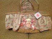 Borsa rosa teddy