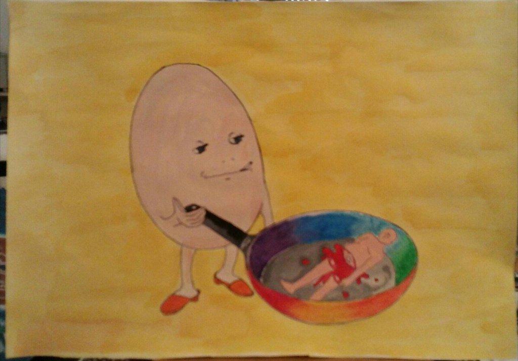 Mr. Egg (l'uomo uovo)