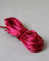 5 mt CODA DI TOPO rosso ciliegia