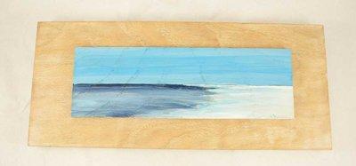 Paesaggi dipinti su legno di castagno