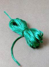5 mt CODA DI TOPO verde smeraldo
