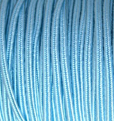 2 mt PIATTINA PER SOUTACHE azzurro