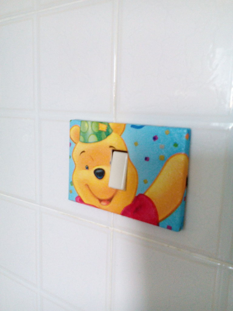 Placca Whinny the pooh