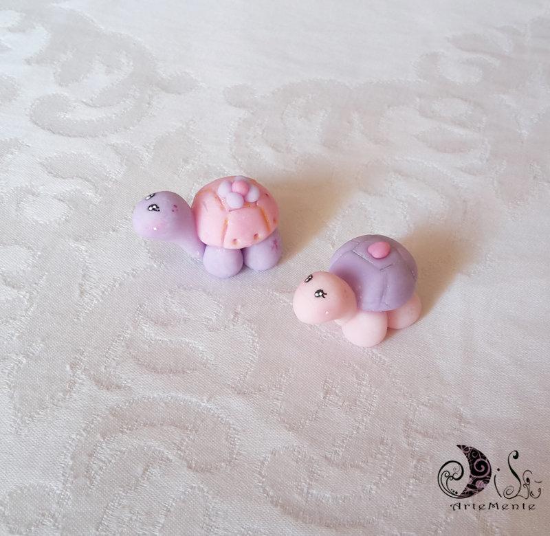 Bomboniere battesimo tartaruga piccola per bimba