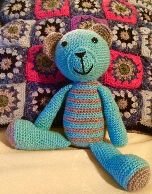 Teddy orsetto amigurumi