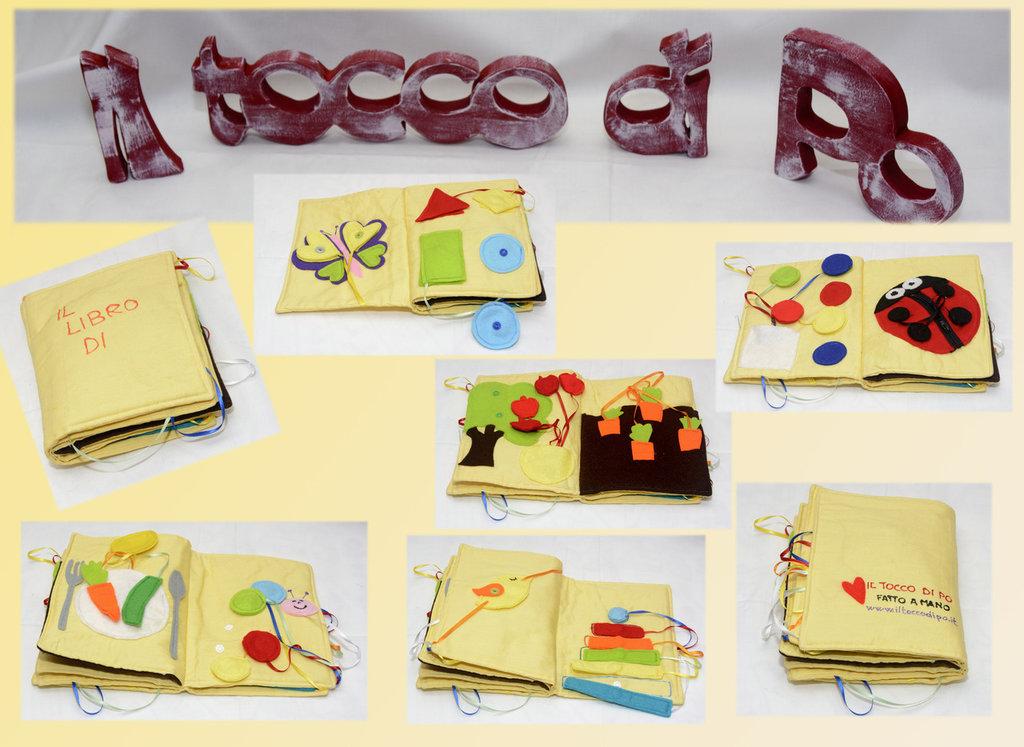 Popolare Libro tattile per bimbi di 1-3 anni fatto a mano - Bambini  UW99