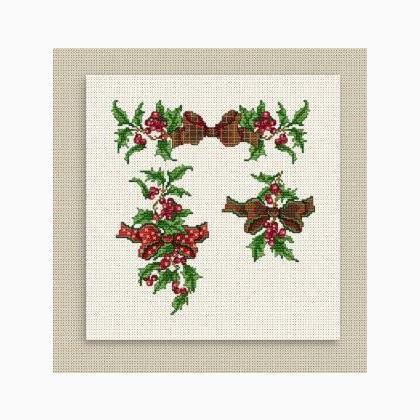 Christmas 01 - Schema Punto Croce - Ellen Maurer Stroh - EMS021
