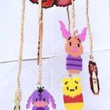 Giostrina per culla Winnie the Pooh Hama Beads