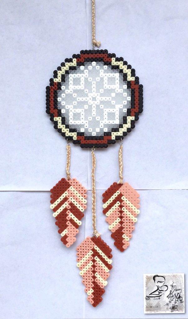 Acchiappa sogni Hama Beads