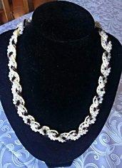 Collana Silk & Pearls