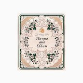 Wedding Sampler - Ellen Maurer Stroh - Schema Punto Croce Sampler Matrimoniale- EMS083