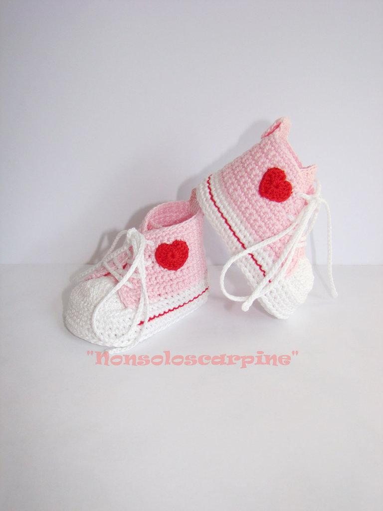 Le scarpine cuore