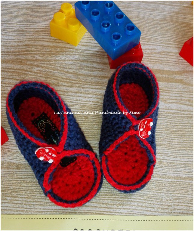 Sandali a uncinetto estivi per neonato in cotone