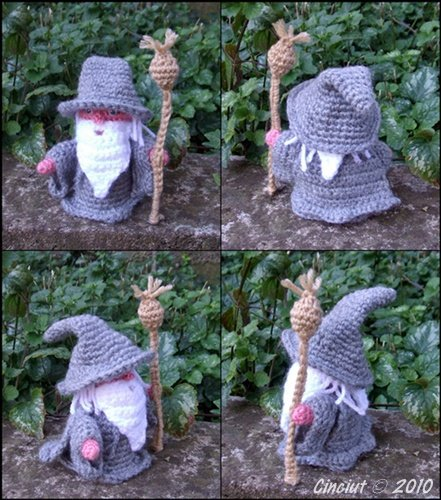 Gandalf the Gray pdf crochet pattern