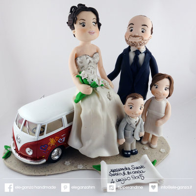 cake topper matrimonio personalizzato