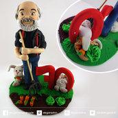 cake topper compleanno adulti