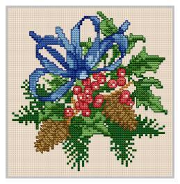 Christmas 3 - Ellen Maurer Stroh - Schema Punto Croce Natale - EMS012