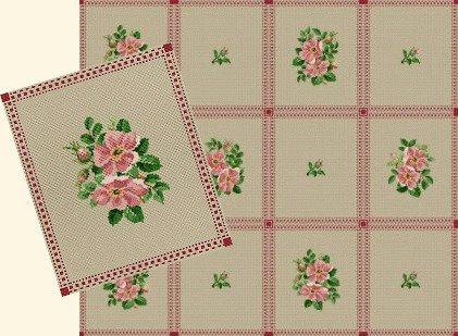 Wild Roses - Schema Punto Croce Rose Selvatiche - Ellen Maurer Stroh - EMS082
