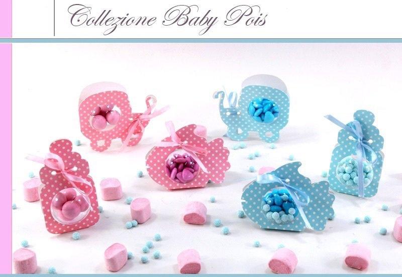 Porta confetti baby