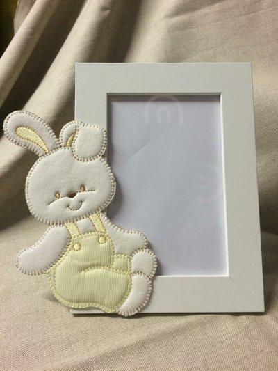 Cornice portafoto neonato