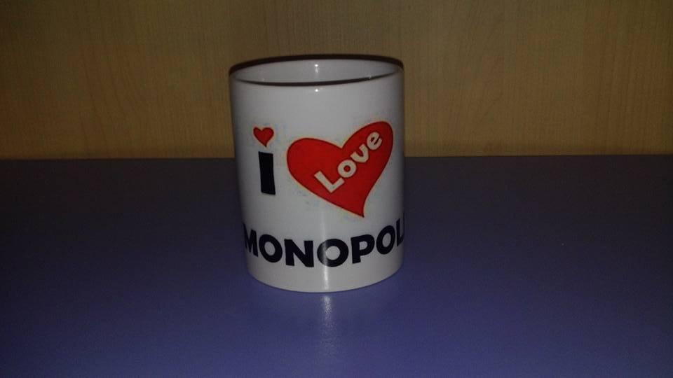 Tazza mug I Love Monopoli