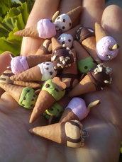 10 cono gelato in fino assortiti