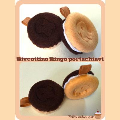 Portachiavi,ciondoli Biscotti Ringo